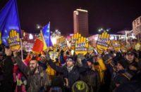 Protestations en Roumanie