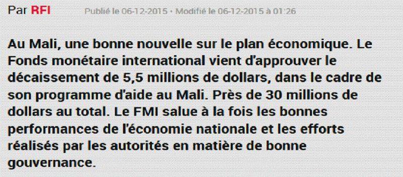 FMI & Banque Mondiale – Afrique - 4