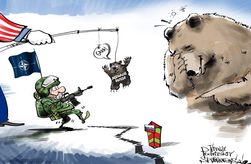 """Résultat de recherche d'images pour """"Expulsion des diplomates: la Russie répond en caricatures"""""""