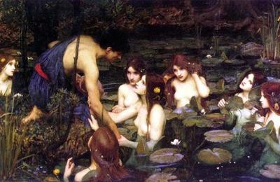 Une galerie à Manchester a enlevé la peinture de 'Hylas et les nymphes', par John William Waterhouse