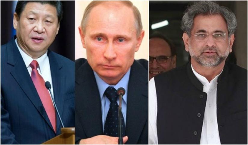 Président de la Chine, Président de la Russie, Premier ministre du Pakistan