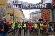 Plus de mille personnes ont pris part à la Marche des parents en colère à Riga