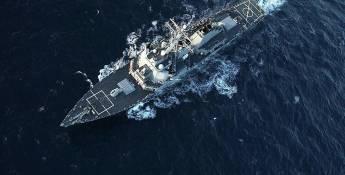 Les navires de guerre américains convergent vers la Syrie Distances de contournement