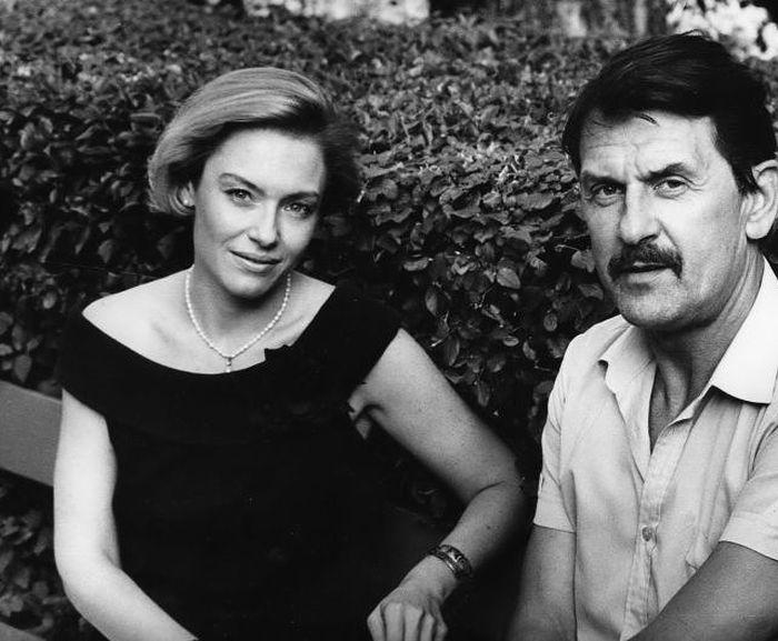 Irina Ponarovskaya et Dmitry Pushkar.  / Photo: www.24smi.org