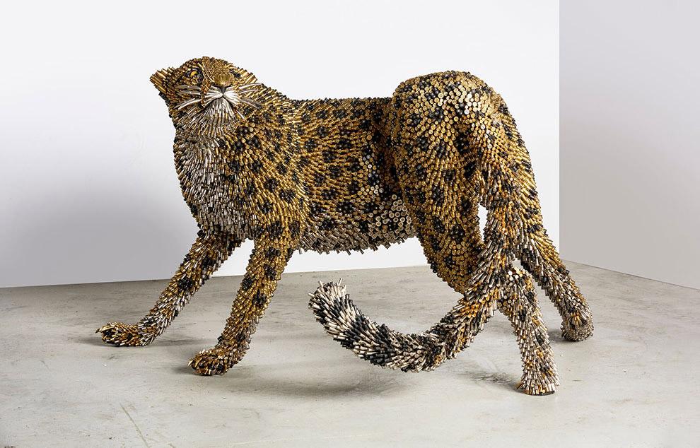 Des sculptures étonnantes de coquilles