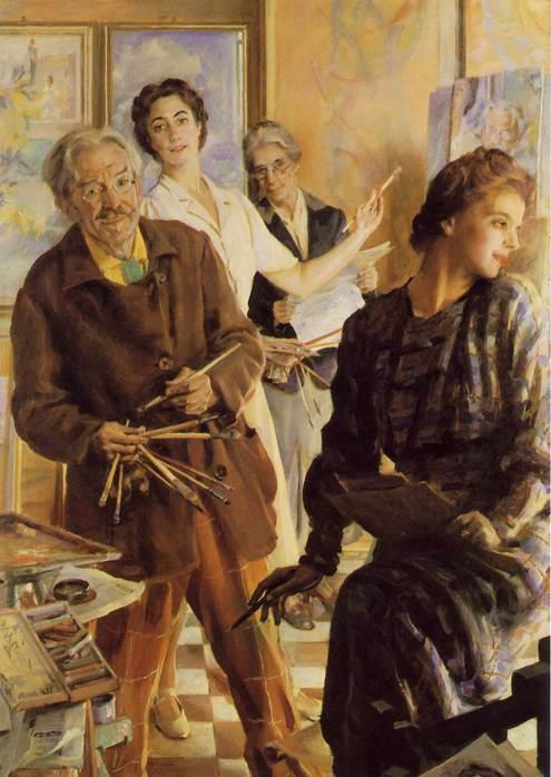 Quatre d'entre nous dans le miroir, Giacomo Balla
