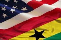 Drapeau États-Unis-Ghana