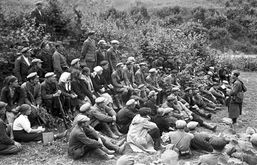Partisans de la région de Smolensk, 1941.