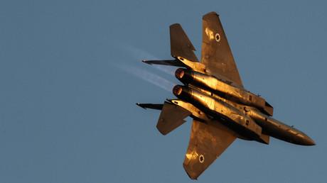 Un avion de chasse F-15 de l'armée de l'air israélienne © Amir Cohen