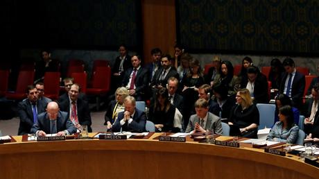 Illustration : réunion du Conseil de sécurité de l'ONU le 9 avril sur la Syrie