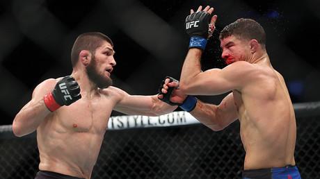«Je pensais, oh mon Dieu, que fait Khabib?  - Nurmagomedov cousin rappelle des virages à l'UFC 223