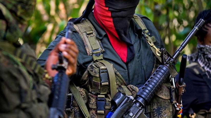 """Le commandant de la guérilla de l'ELN: """"La Colombie est un pays en guerre"""""""