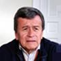 Pablo Beltrán, commandant de l'Armée de libération nationale et leader des pourparlers de paix.