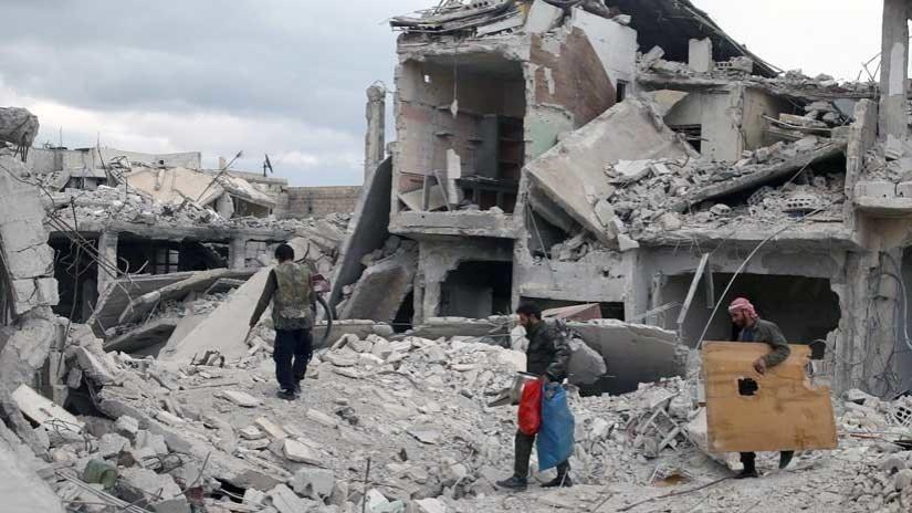 """Médecin de la Douma: """"Nous n'avons pas vu un patient avec des symptômes d'empoisonnement chimique"""""""