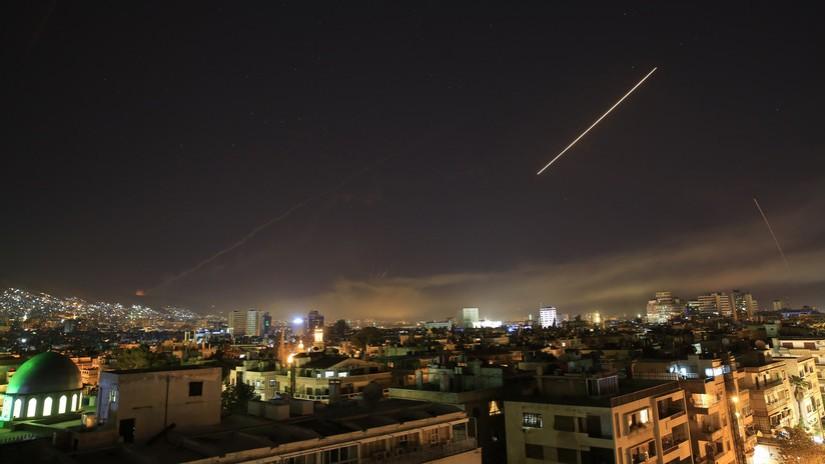 De fortes explosions ont été signalées à Damas après l'ordre de Trump de bombarder la Syrie