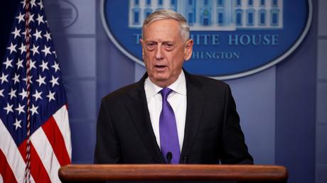 """Le Pentagone affirme que les frappes syriennes sont une """"occasion unique"""" d'envoyer un message fort à Assad"""
