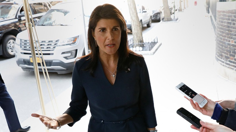 More sanctions against Russia to be announced on Monday - Haley