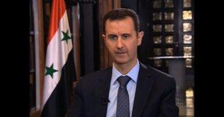 Trump veut Assad!
