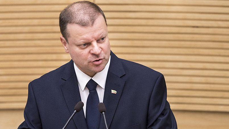 Saulius Skvernelis / Source: sputniknews.lt