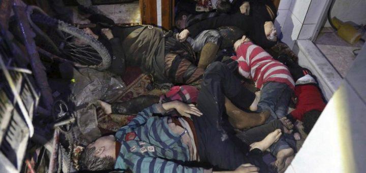 Douma, Attaque chimique, Casques blancs, Faux, Faux, Propagande, Syrie, Russie,