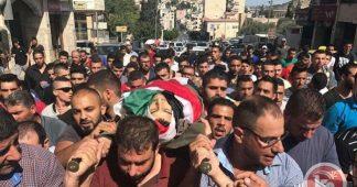 Les funérailles commencent pour les Palestiniens tués par l'armée israélienne le Jour de la Terre