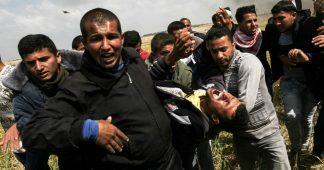 Une vidéo montre des Palestiniens abattus avec des tireurs d'élite israéliens