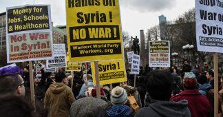 Mains loin de la Syrie!