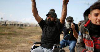 Les troupes israéliennes ont abattu des Palestiniens sans jambes.  Le nouvel Holocauste.