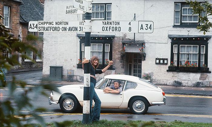 Été 1969  La même année, le couple enregistre sa chanson la plus célèbre, Je T'aime ... Moi Non Plus.  Photo: Andrew Birkin.