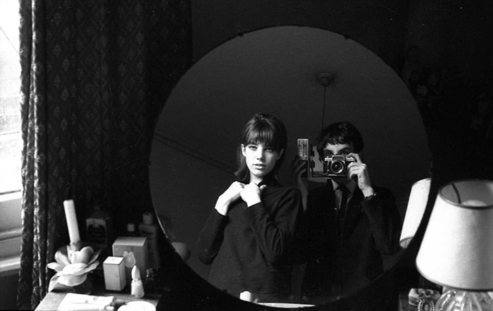 Andrew et Jane Birkin.  Photo: Andrew Birkin.