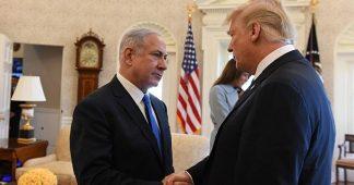 Netanyahu n'est pas satisfait de Trump.  Et son homme Bolton dirige le NSC!