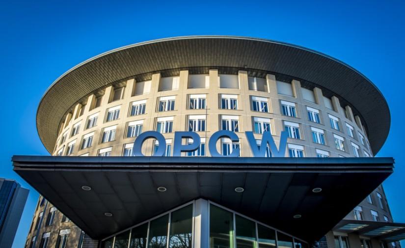 OIAC Le siège de l'OIAC (OPCW en anglais), à La Haye, 5ac4a040488c7b3b2d8b4567