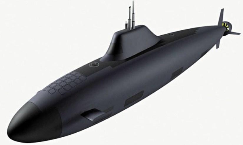 La Russie lance le développement du sous-marin de cinquième génération
