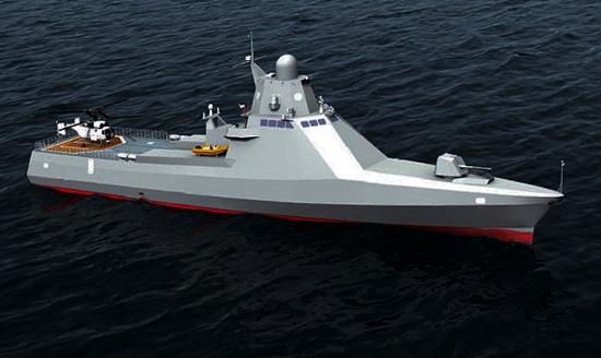 La marine russe reçoit un nouveau navire high-tech