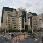 Le SIS (MI6) Building à Vauxhall Cross, Londres