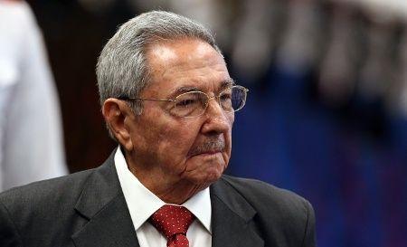 Le président cubain Raul Castro lors de sa visite au Vietnam plus tôt cette année.  29 mars 2018.