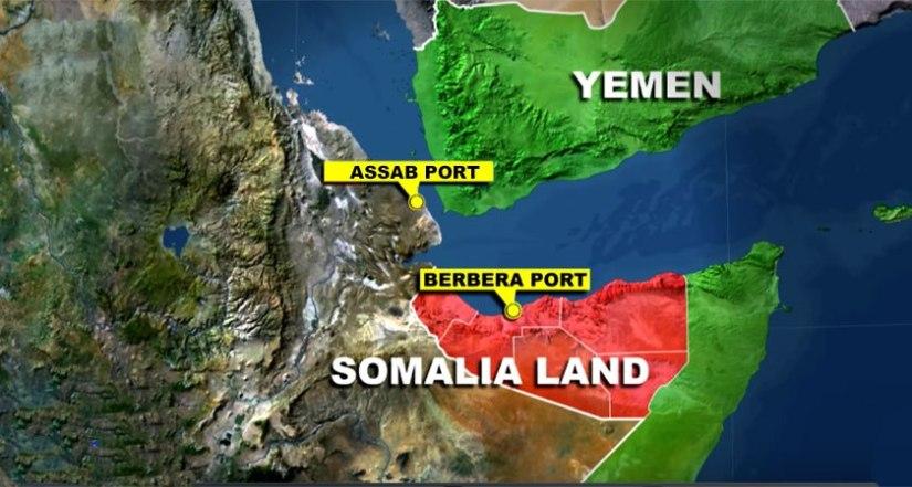 Carte du Somaliland
