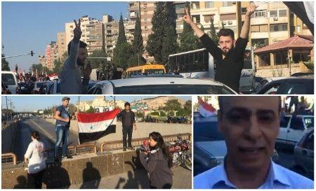 Le correspondant de teleSUR Hisham Wannous rapporte sur la Syrie.