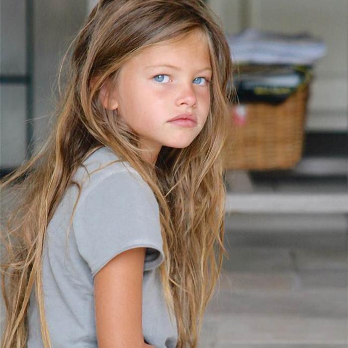 Tilan Blondo a commencé à participer à des séances photo professionnelles à partir de l'âge de 4 ans.