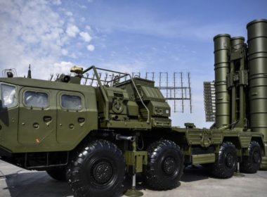 Russian S-400 missile system Triumph