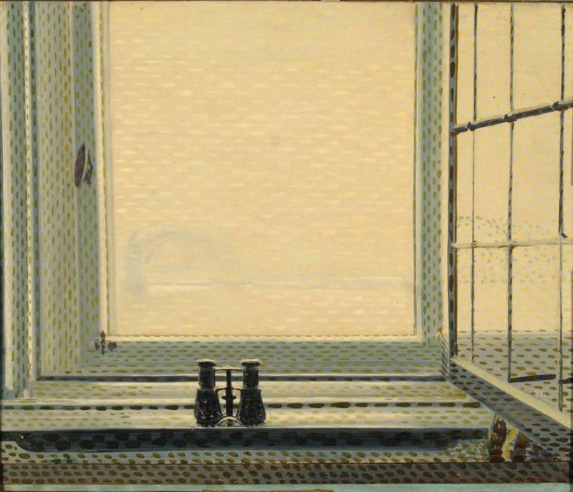 Fenêtre à Düsseldorf, Giacomo Balla 1912