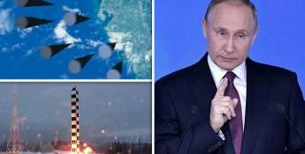 Poutine a révélé les nouvelles armes de la Russie pour contrer une attaque américaine imminente