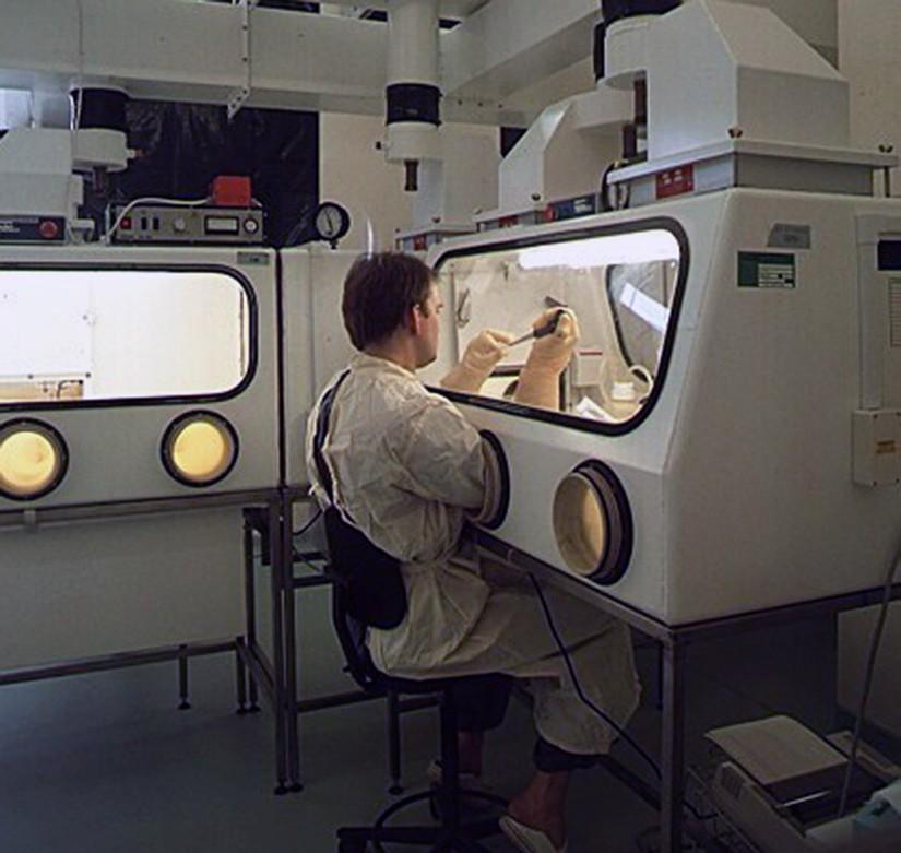 """Le parc scientifique """"Porton Down"""" est l'une des installations les plus fermées et les plus secrètes du Royaume-Uni.  Photo: NOUVELLES DE L'EST"""