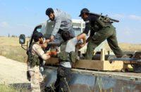 terroristes en Syrie