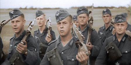 Les soldats comme ceux-ci se sont battus avec une capacité inégalée, audacieuse et ingénieuse
