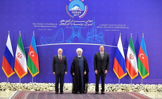 Russia Iran Azerbaijan summit