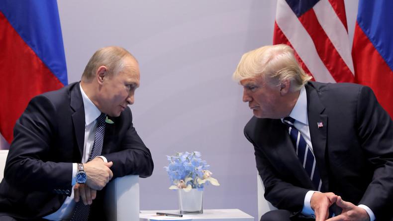 Rencontre historique entre Vladimir Poutine et Donald Trump à Helsinki