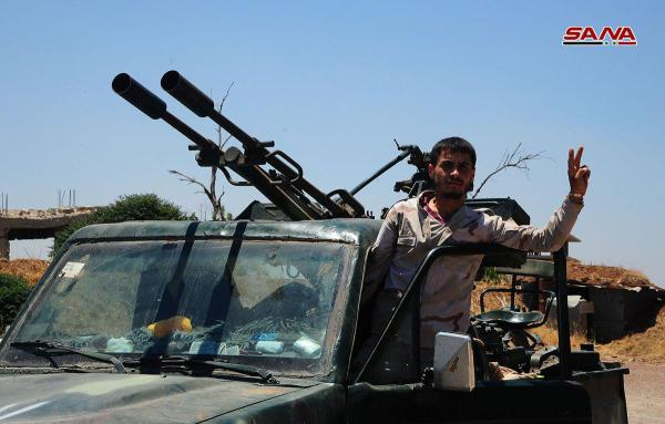 L'armée syrienne a imposé le contrôle de 36 villages et villes à Al-Quneitra au cours des dernières 24 heures