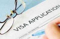 Demande de visa du département américain de Stae
